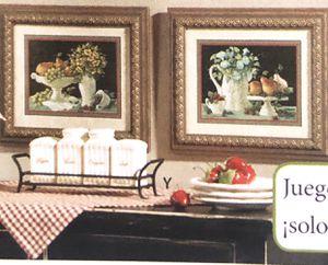 """Home 🏠 interior """" solo se BENDEN Los (2 cuadros de cocina for Sale in Los Angeles, CA"""