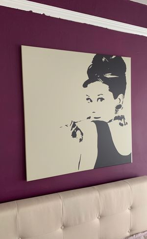 Painting of Audrey Hepburn for Sale in San Francisco, CA