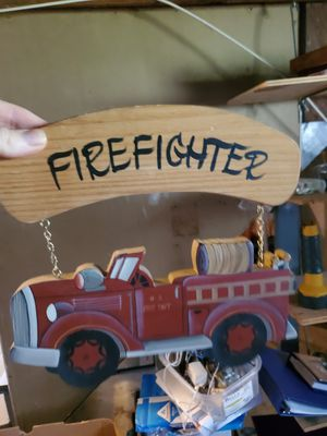 Firefighter Decor for Sale in St. Louis, MO