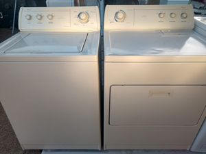 """""""WHIRLPOOL"""" MATCHING SET WASHER & ELECTRIC DRYER SUPER CAPACITY PLUS for Sale in Phoenix, AZ"""