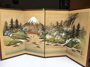 """Japanese screen print 47"""" x 24"""" for Sale in Poway, CA"""