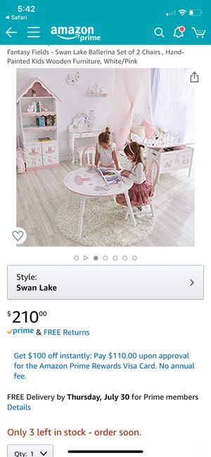 New in box children table set includes 2 chairs for Sale in Lanham, MD