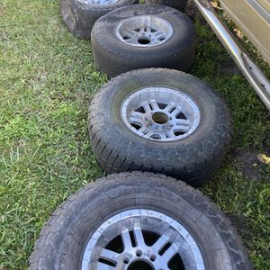 Ford 8 Lug Rims And Tires for Sale in Port St. Lucie, FL