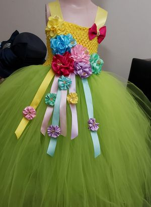 Tinkerbell tutu dress for Sale in Long Beach, CA
