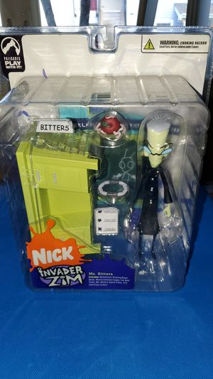 Nickelodeon Invader Zim Ms. Bitters Mint On Card Action Figure New In Package for Sale in Everett, WA