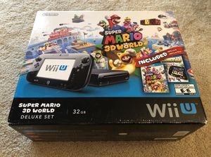 Nintendo Wii U with Box and Games for Sale in Manassas, VA