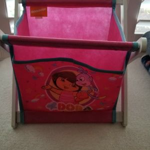 Dora The Explorer foldable book/toy basket or storage for Sale in Bellflower, CA