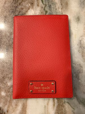 Kate Spade Red Leather Passport Holder *New for Sale in Fort Pierce, FL