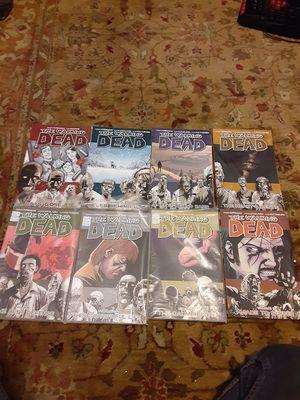Walking dead comics vol1-8 for Sale in Sunbury, PA