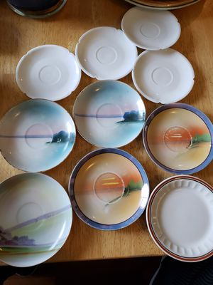 10 Decorative Tea and Salad Plates for Sale in Gresham, OR
