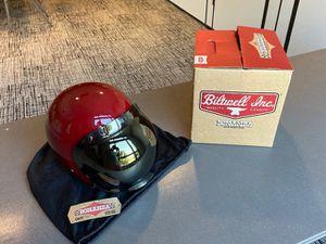 Biltwell Bonanza open-face motorcycle helmet w/ bubble shield for Sale in Santa Ana, CA