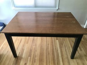 Dining Table with Attached Leaf for Sale in Salt Lake City, UT