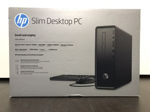 HP Slim Desktop Tower Computer NEW! for Sale in Tolleson, AZ