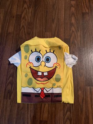 SpongeBob costume kids size 4/6 for Sale in Los Angeles, CA