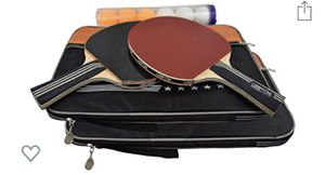 GearTOP 6 Star Table Tennis Racket Set, Professional Ping Pong Paddle Bundle for Sale in Irwindale, CA