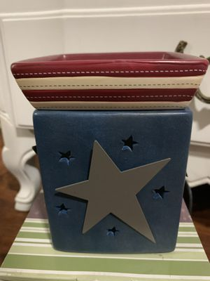 Stars and Stripes Collectible Retired Scentsy Warmer for Sale in Norwalk, CA