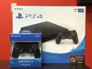 Brand new PS4 Slim (Extra controller included with purchase) for Sale in Irving, TX