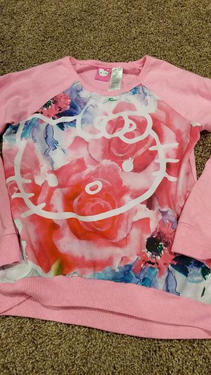 Girls size 7/8 long sleeve shirt hello Kitty for Sale in Hazelwood, MO