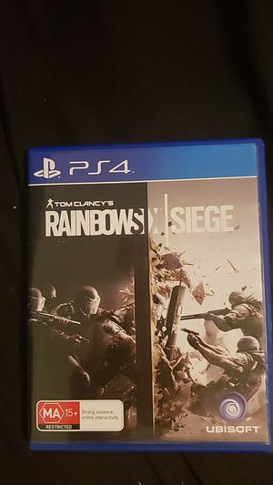 Rainbow six siege ps4 for Sale in Fresno, CA