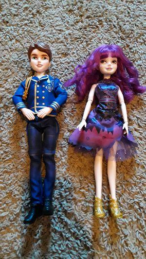 Descendents 2 dolls $10 for Sale in Dallas, TX