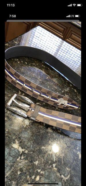 Limited edition Louis Vuitton belt for Sale in Las Vegas, NV