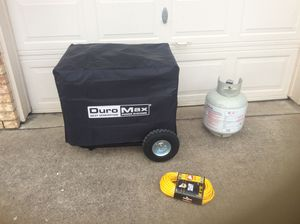 Duro Max 9500 watt gas/propane portable generator for Sale in McKinney, TX