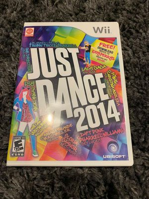 Just Dance 2014 for Nintendo Wii for Sale in Apex, NC