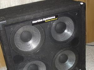 Hartke System 4x10 bass cabinet for Sale in Monroe, WA