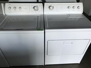 Washer and electric dryer for Sale in Stockton, CA