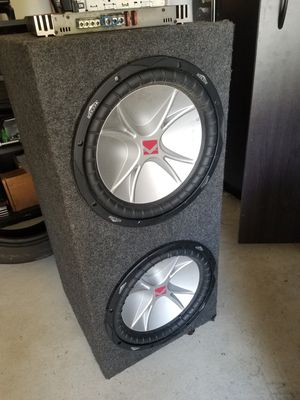 "12"" Kicker Subwoofer system for Sale in Lake Worth, FL"