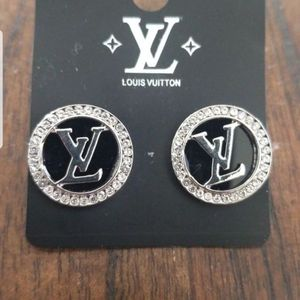 New Designer EARRINGS STERLING SILVER Post And CUBIC ZIRCONIA DIAMONDs for Sale in Discovery Bay, CA