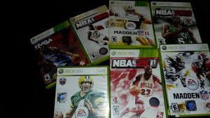 XBOX 360 GAMES(EACH 5 DOLLARS) for Sale in Montpelier, MD
