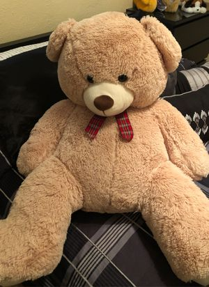 Big teddy bear in great condition 25 obo for Sale in Pembroke Pines, FL