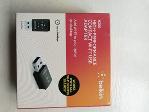Belkin WiFi USB adapter for Sale in West Chester, PA