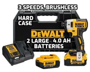DeWalt DCF887M2 SET WITH HARD CASE, TWO 4.0Ah BATTERIES, CHARGER & CLIP FIRM PRICE!!! for Sale in Lake Worth, FL