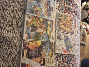 Wii tv king, outdoor, smurfs, block party, sims party for Sale in Cary, NC