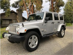 2012 Jeep Wrangler Unlimited for Sale in Fresno, CA