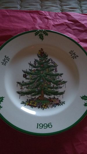 SPODE CHRISTMAS PLATE - 1996 for Sale in Plant City, FL