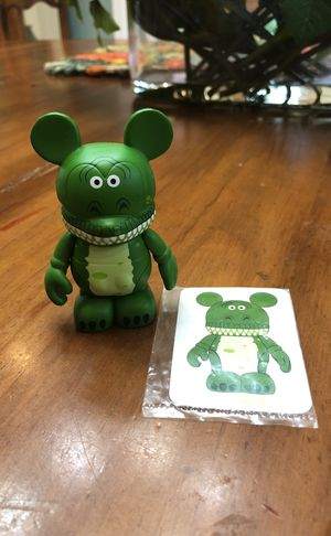 Toy Story Vinylmation Rex Figure for Sale in Miami, FL