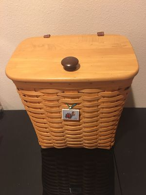 Longaberger Mail Basket for Sale in Rancho Cucamonga, CA