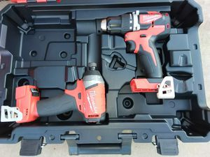 DRILL SET MILWAUKEE BATTERY NOT INCLUDED for Sale in Phoenix, AZ