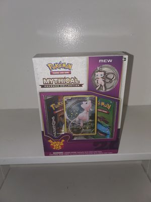 Pokemon card mew mythical collection pin booster cards for Sale in Inglewood, CA