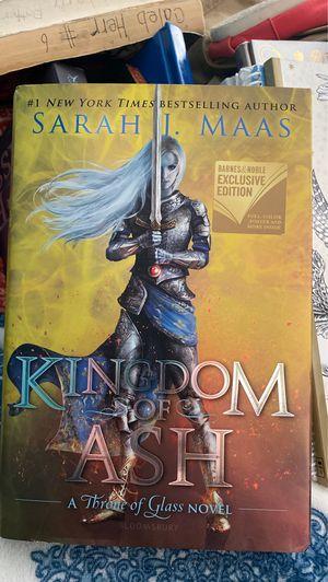 Kingdom of Ash (Hardback book) for Sale in San Diego, CA