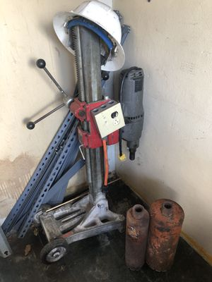 Milwaukee coring drill with 2 drill bits for Sale in Hialeah, FL