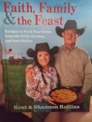 Faith, Family & the Feast Cook Book for Sale in San Antonio, TX