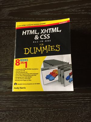HTML,XHTML,&CSS (2nd edition) for Sale in Chandler, AZ