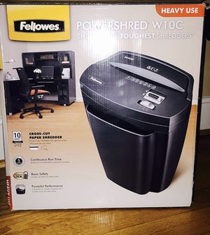 Fellows Powershredder W10C for Sale in Dunnellon, FL
