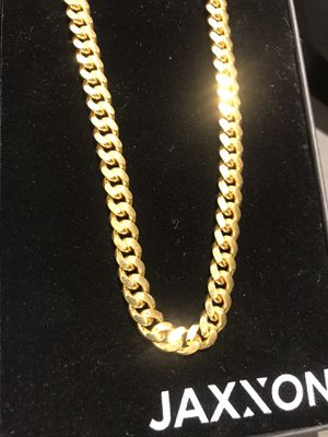 Gold cuban link for Sale in Moreno Valley, CA