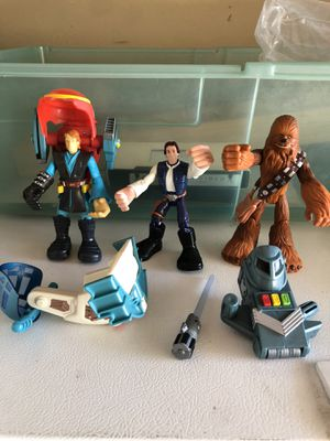 Star Wars collectible action figures Hasbro from 2004/2005 for Sale in Whittier, CA
