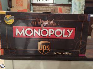 Monopoly UPS edition. for Sale in Chesapeake, VA